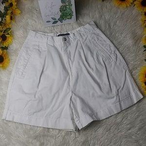 Maurice white shorts size 8